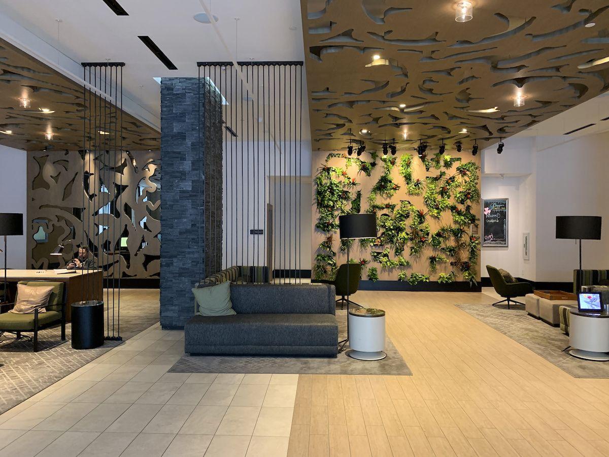 Westin Austin Downtown Hotel Lobby