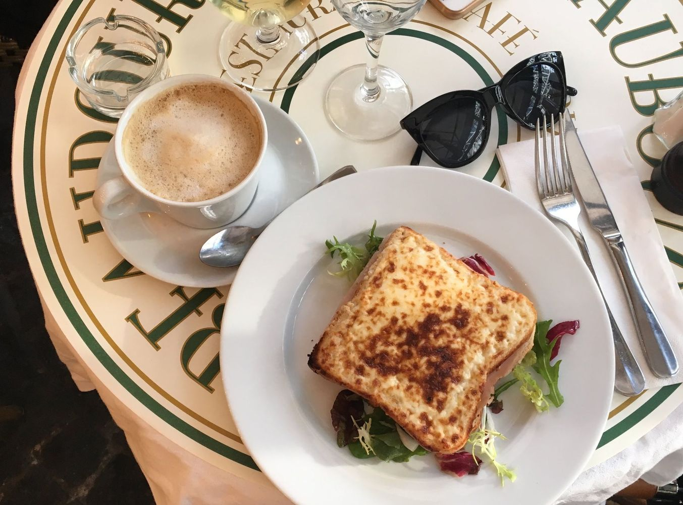 Where To Eat During Winter in Paris - Croque Monsieur