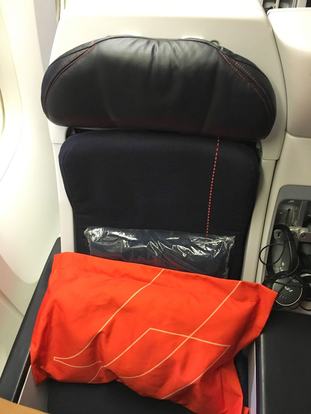 Air France Premium Economy Seats Review
