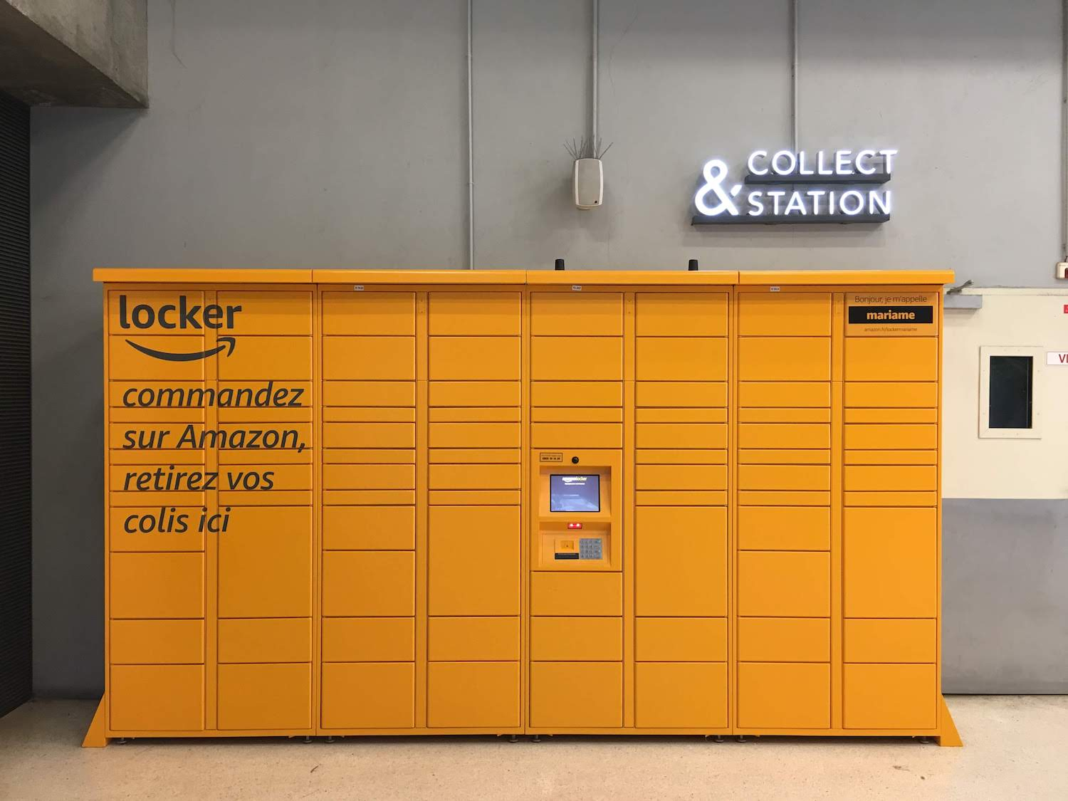 Amazon Lockers Paris