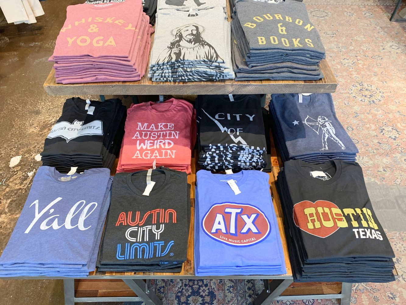 Austin T-Shirts for Sale in South Congress – Where to Shop in Austin