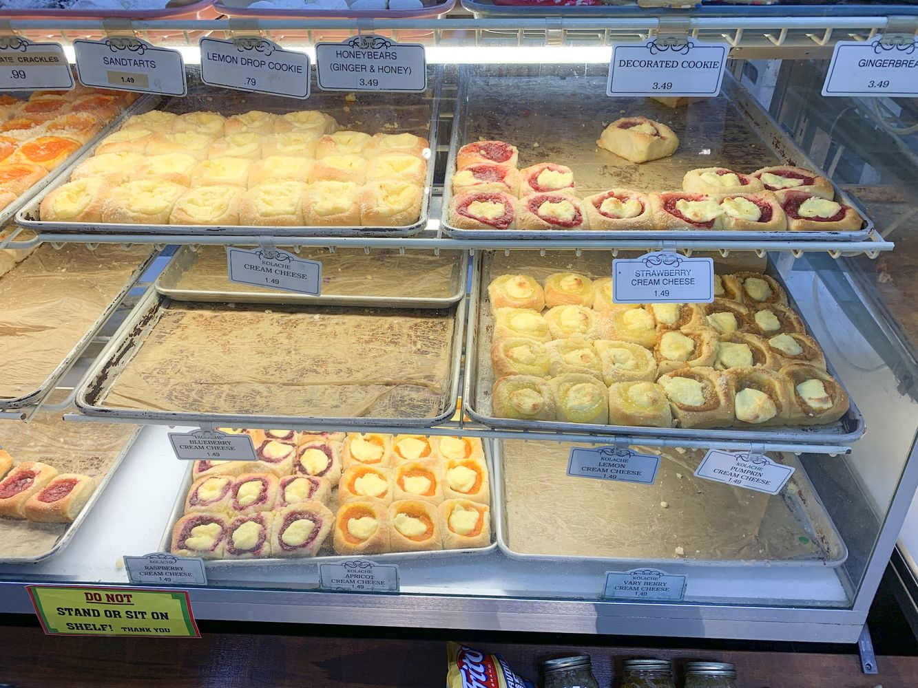 Kolaches at the Czech Stop in West, TX