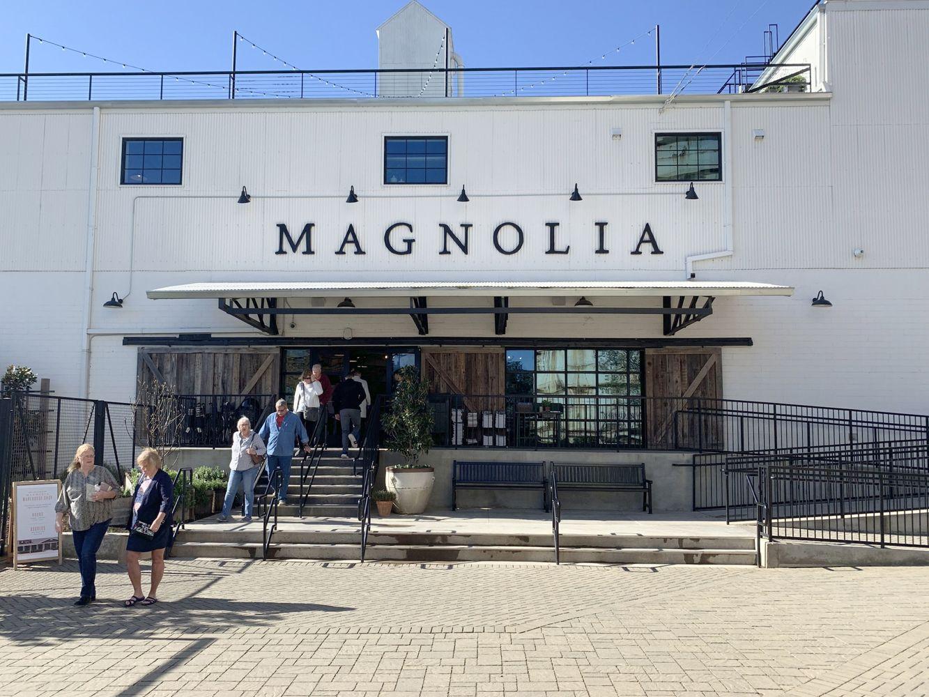 Magnolia Market Entrance