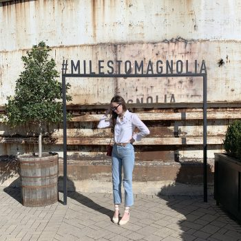 #MilestoMagnolia Sign at Magnolia Market