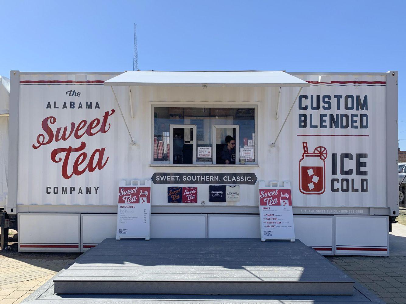 Alabama Sweet Tea Company Food Truck at Magnolia Market
