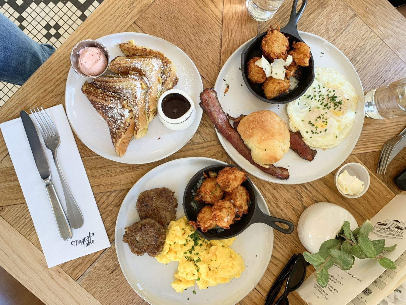 Magnolia Table Breakfast in Waco