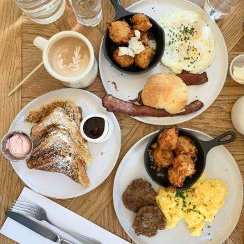 American Restaurants - Magnolia Table Breakfast in Waco