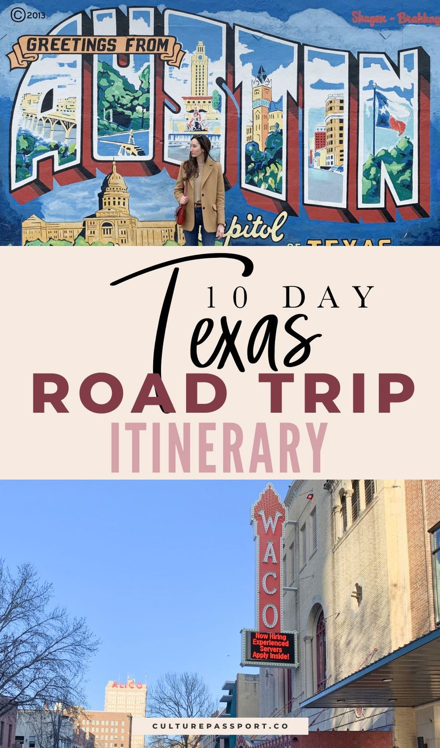 10-day Texas Road Trip Itinerary