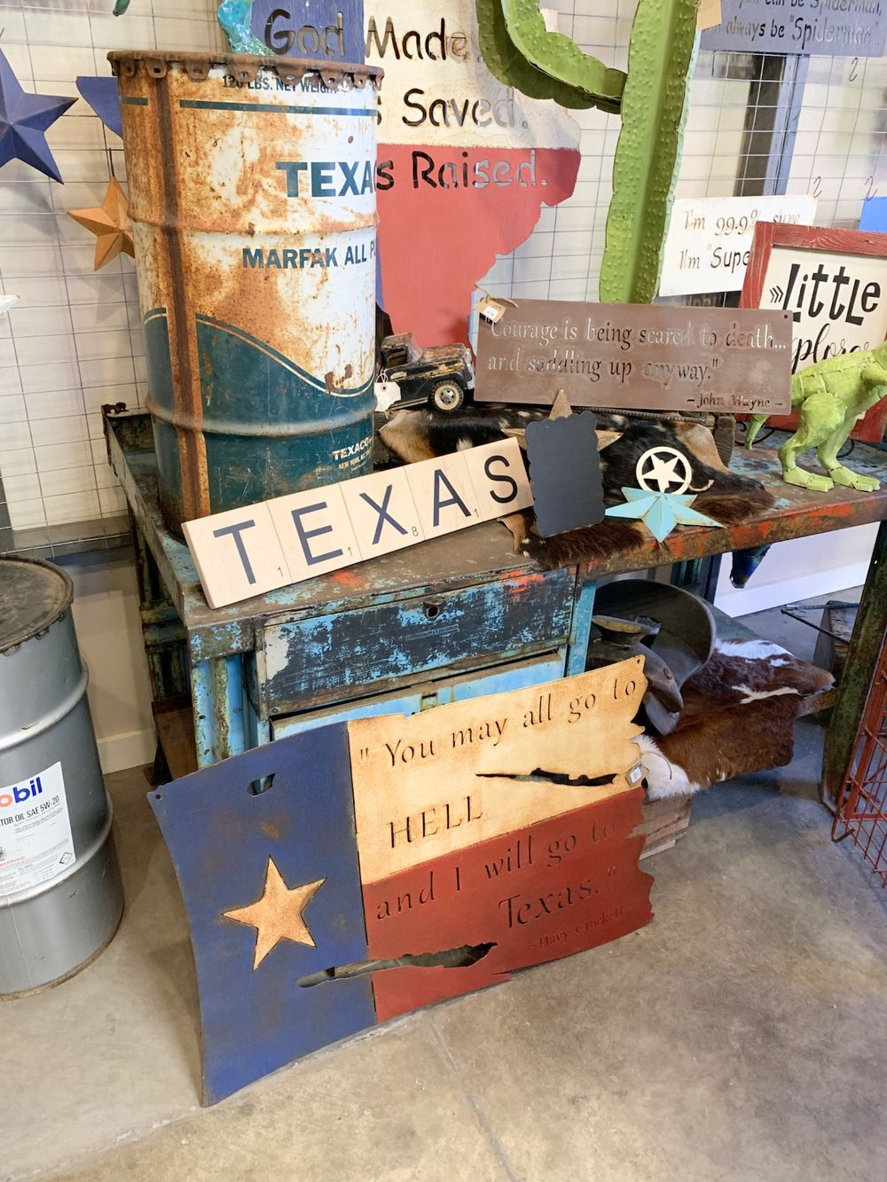 Texas Wall Decor in Waco, TX