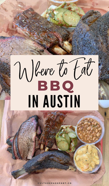 Where to Eat BBQ in Austin, Texas! #austinbbq