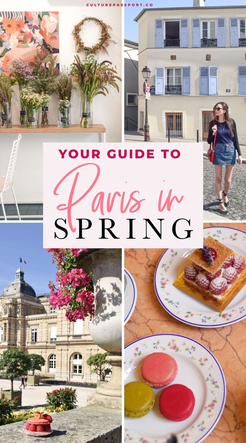 Your Guide To Paris In Spring! Everything you need to know before spending spring in Paris. #parisguide #paristips #springtravel