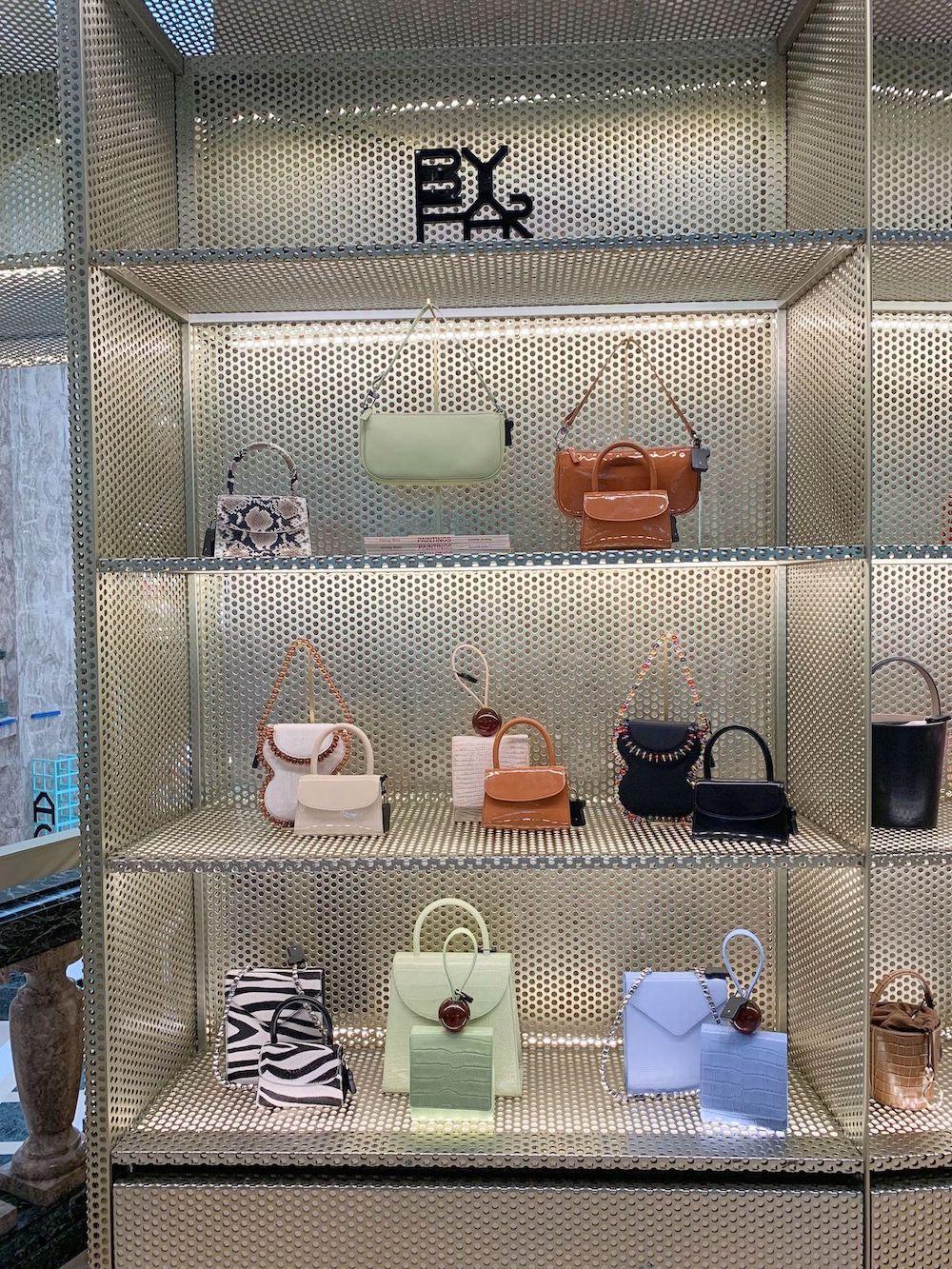 By Far Handbags at Galeries Lafayette Champs Elysées