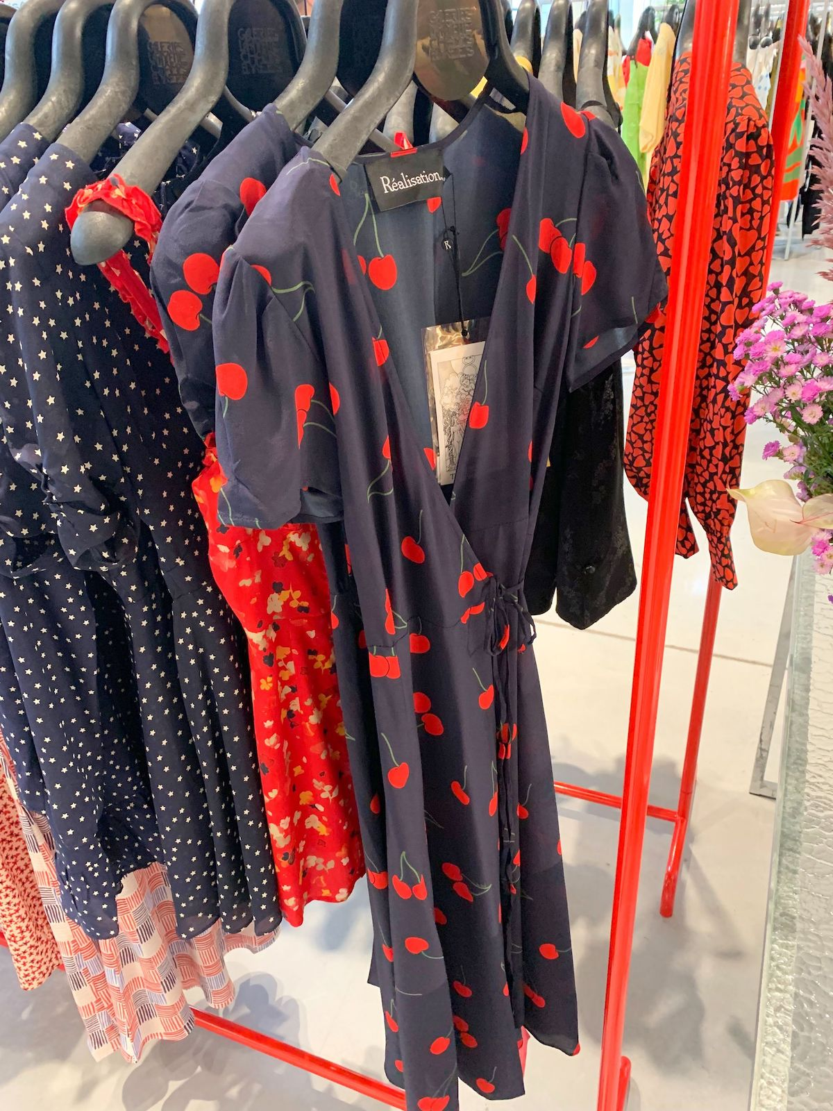 Realisation Par Wrap Dress at Galeries Lafayette Champs Elysées