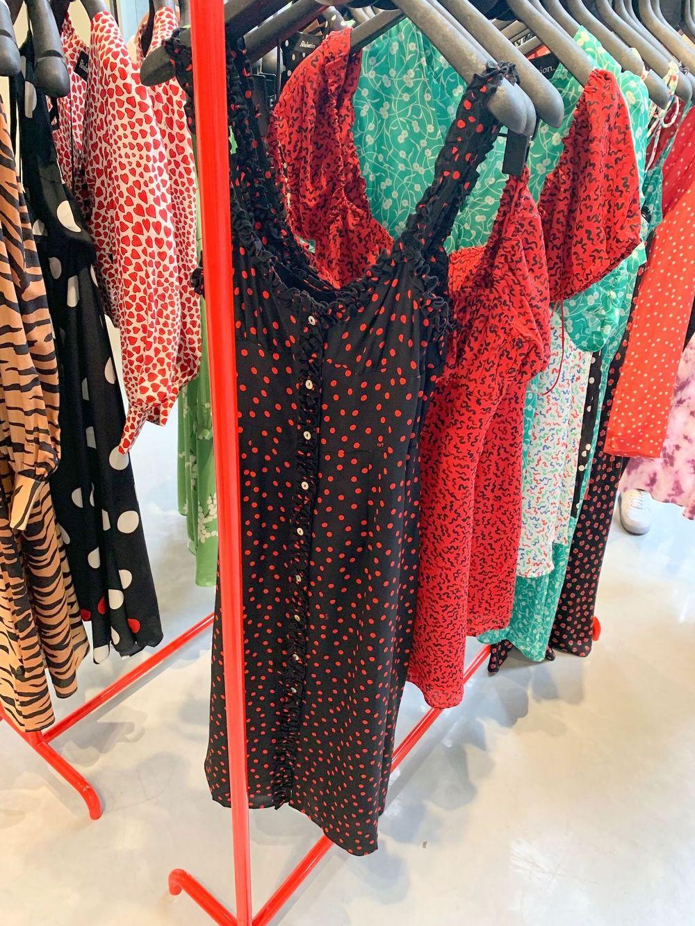 Realisation Par dresses at Galeries Lafayette Champs Elysées
