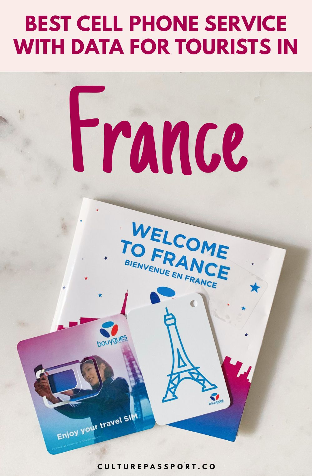 The Best Prepaid Cell Phone Plans & Data for Tourists in France