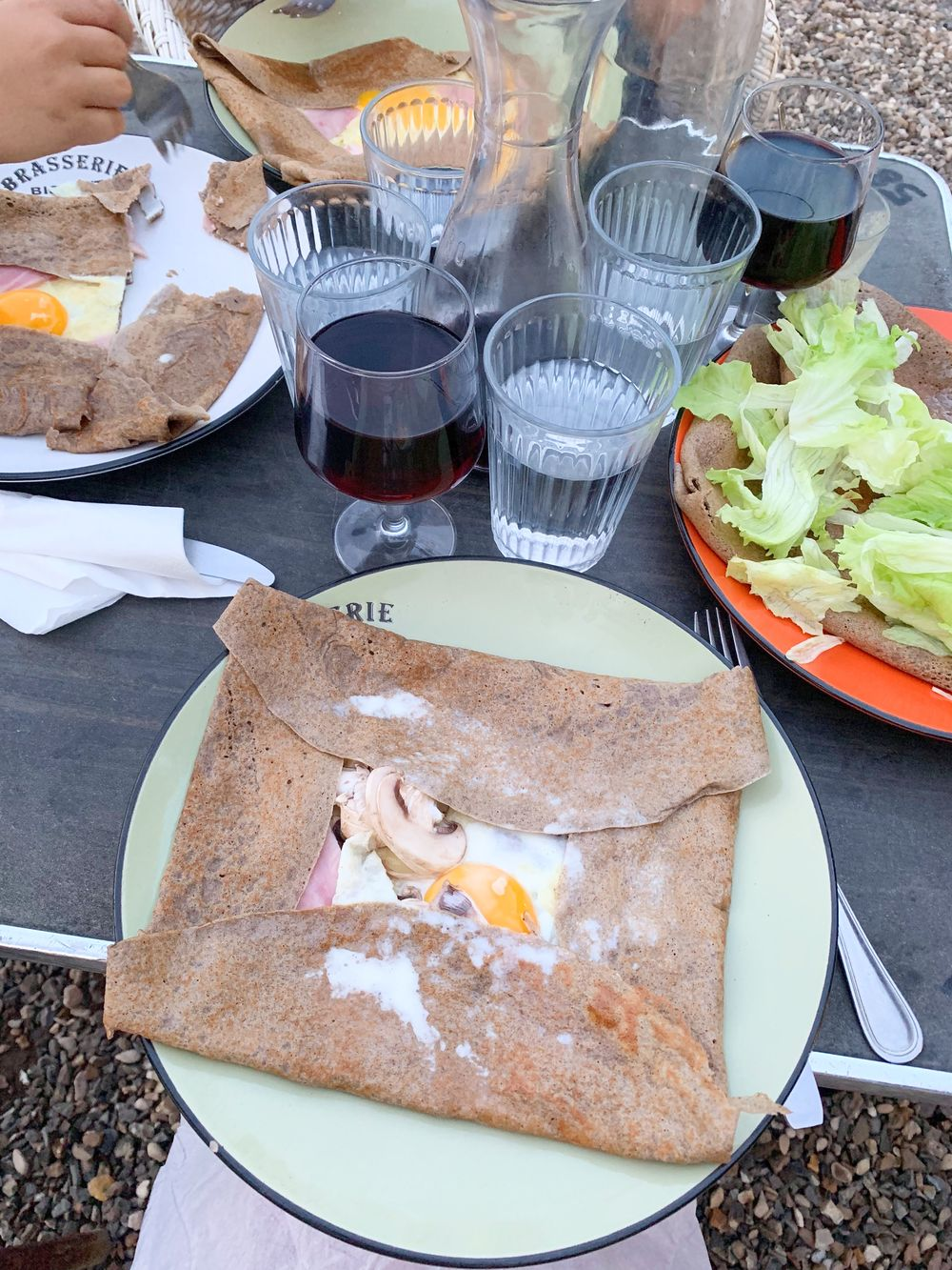 Crêpes in the Countryside Chantilly, France