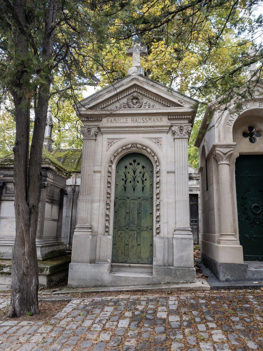 Père Lachaise Famille Haussmann Tomb
