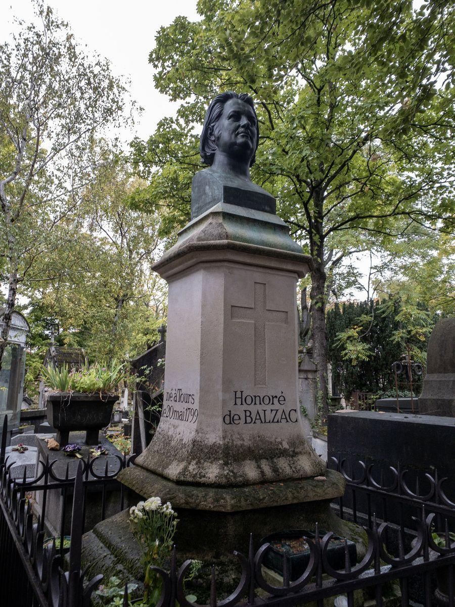 Père Lachaise Honoré de Balzac