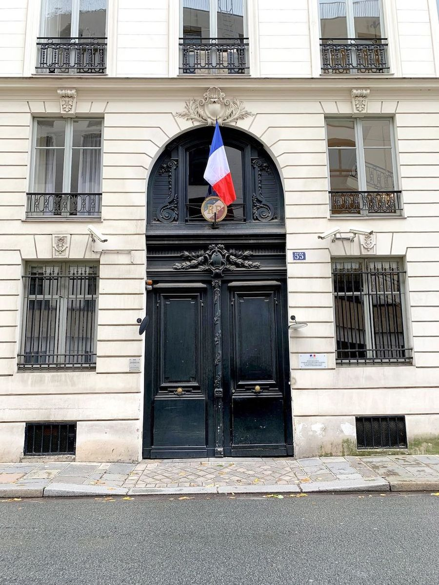 Place De L'Assemblé Nationale, Paris