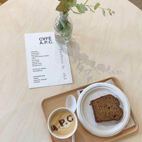 A.P.C. Café Pop-up Opens in Paris