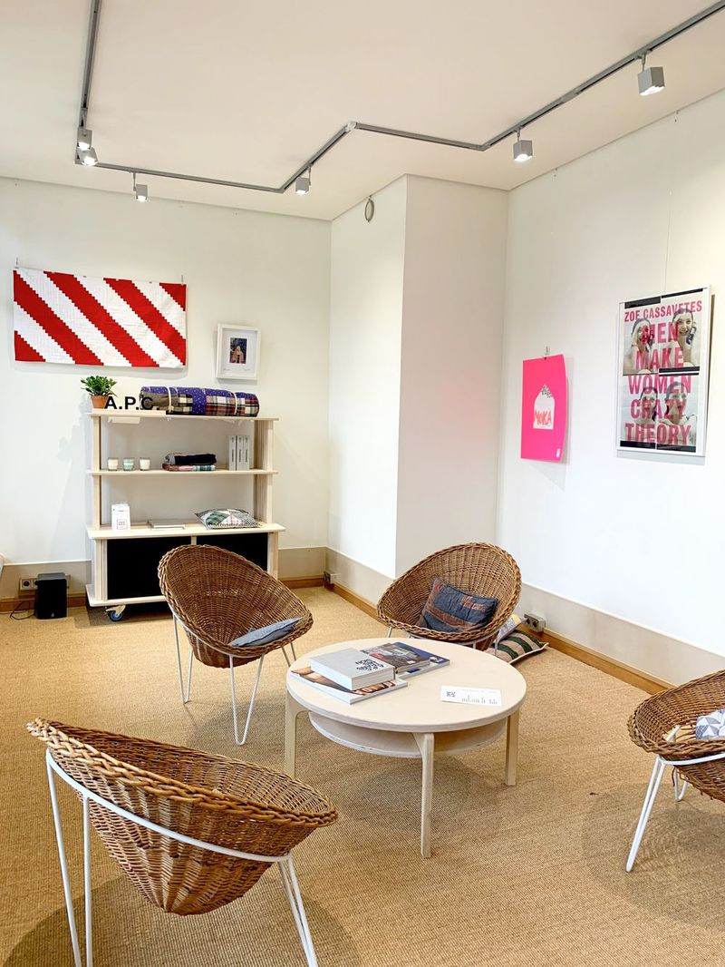 APC Café, Pop-up in Joyce Gallery, Palais Royal, Paris, France