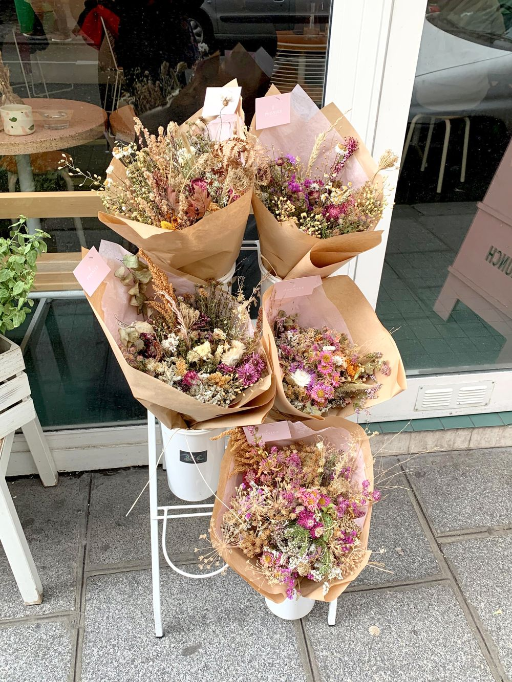 Peonies Paris - Dried Flowers In Paris