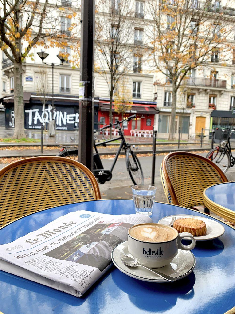 La Fontaine De Belleville Café, Paris, France