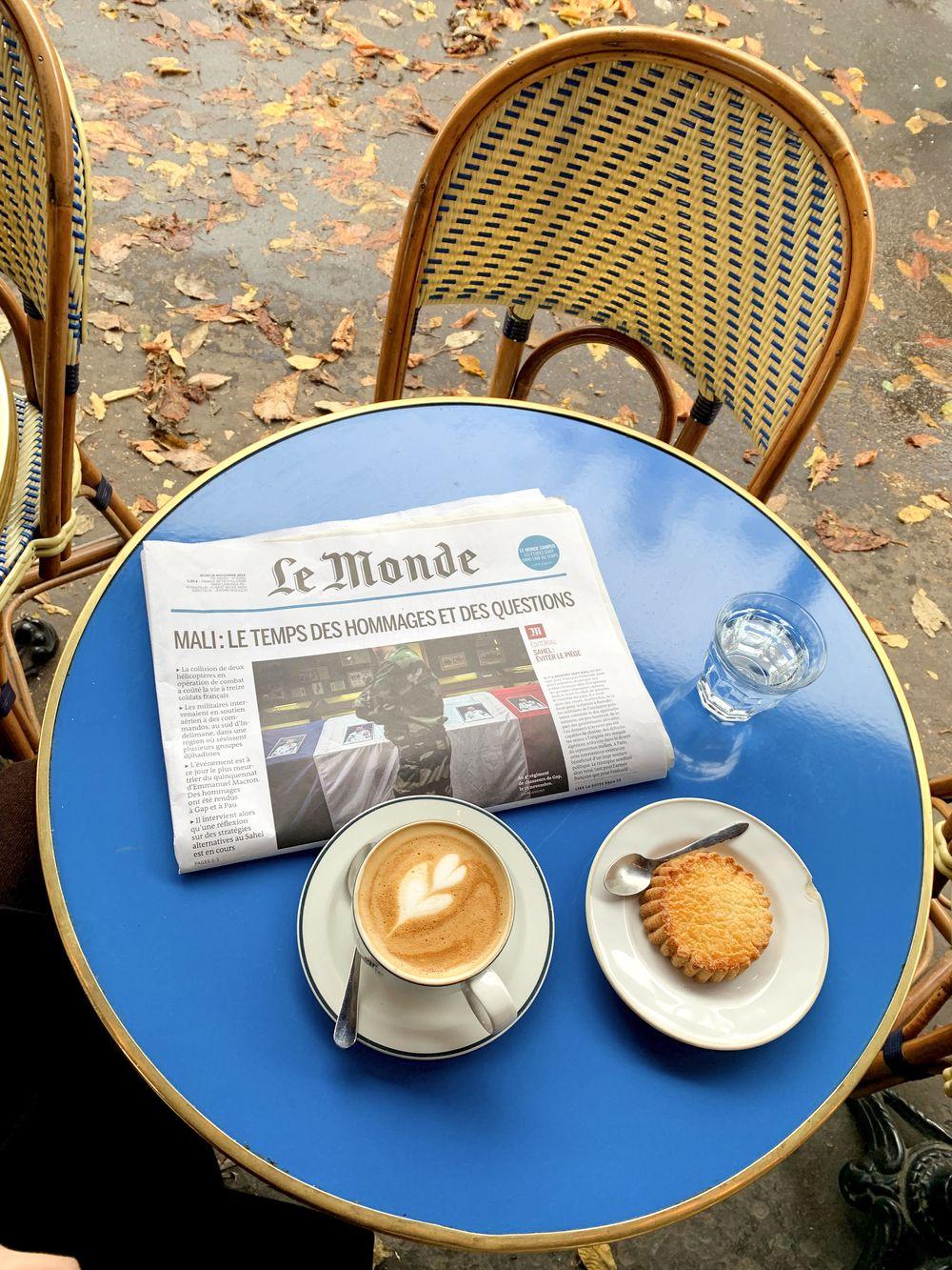 French Coffee Brewers - La Fontaine De Belleville Café, Paris, France