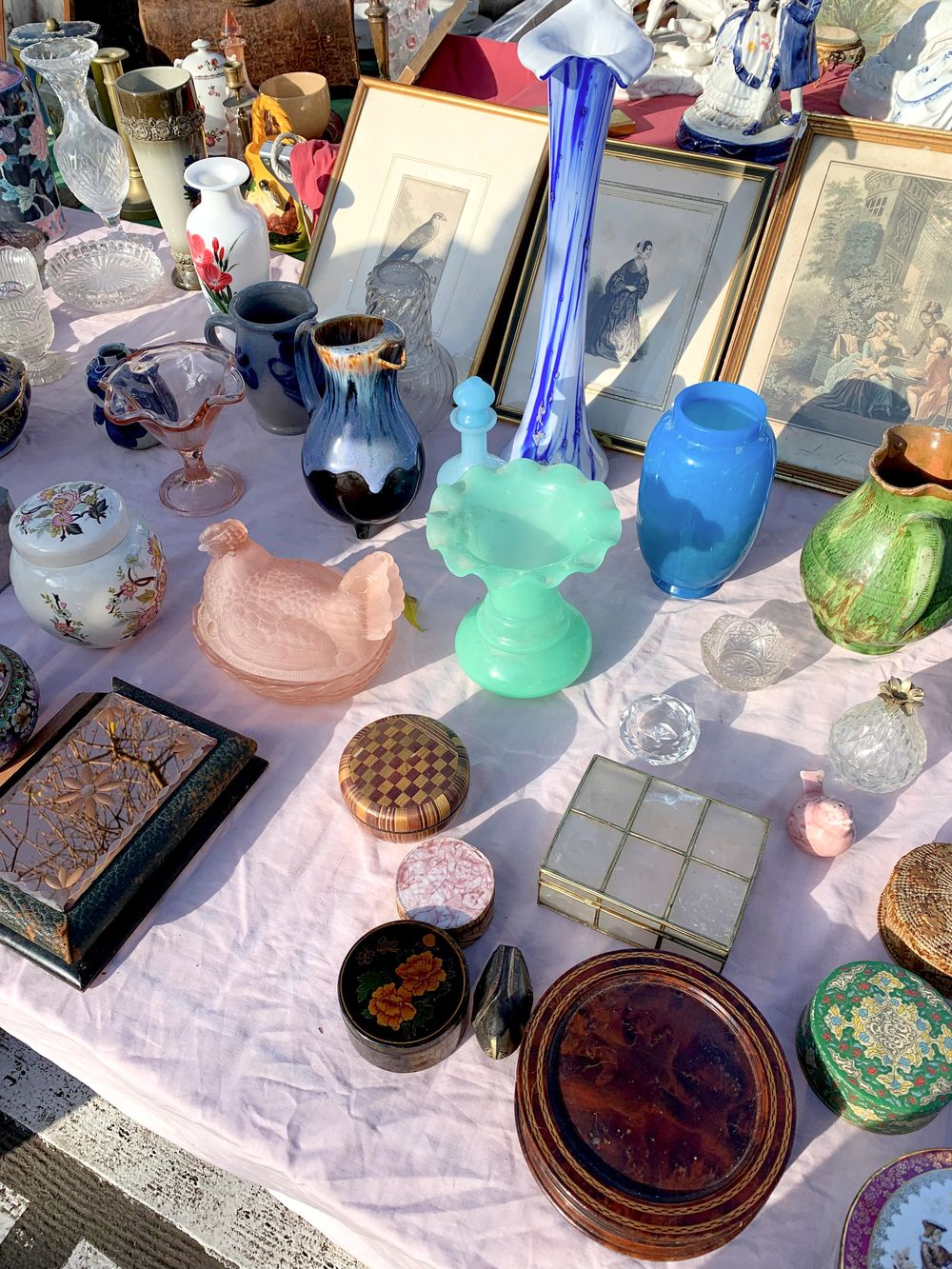 Les Puces De Vanves, Paris, France Flea Market