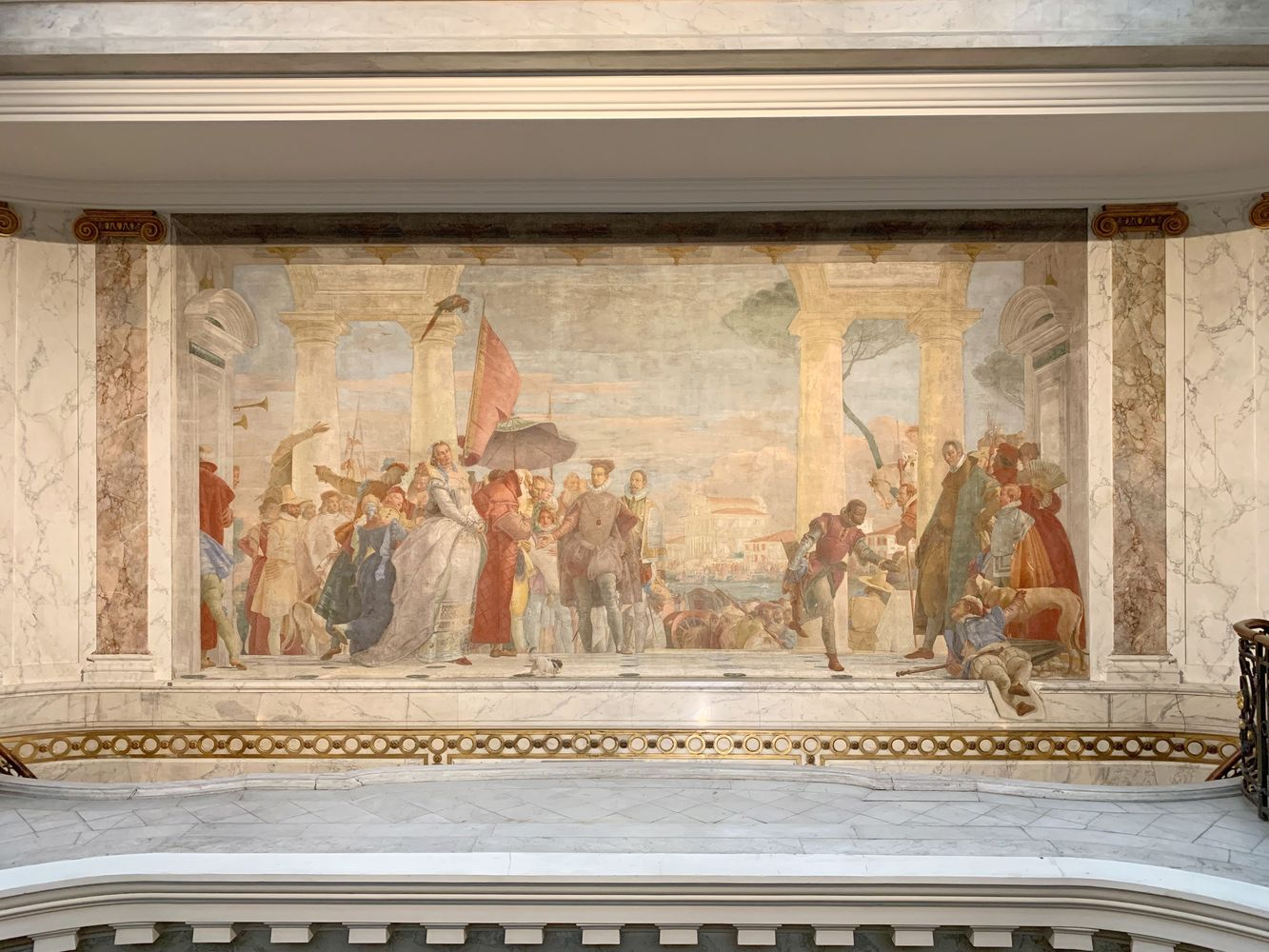 HENRI III BEING WELCOMED TO THE CONTARINI VILLA, Giambattista Tiepolo, 1745, Musee Jacquemart Andre