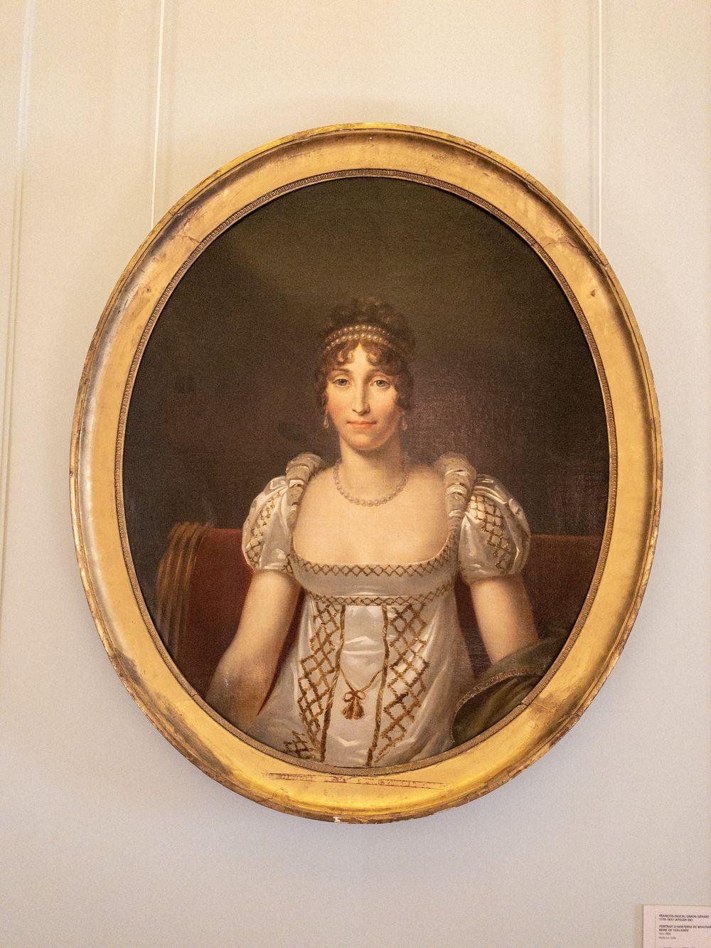 Musee Marmottan Monet - Francois-Pascal-Simon Gérard, Portrait d'Hortense de Beauharnais, Reine de Hollande, 1806