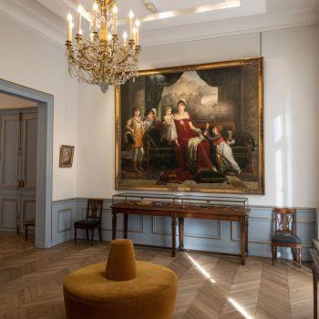 Musee Marmottan Monet - Francois-Xavier Fabre, Portrait de la Duchesse de Feltre et de ses Enfants, 1810
