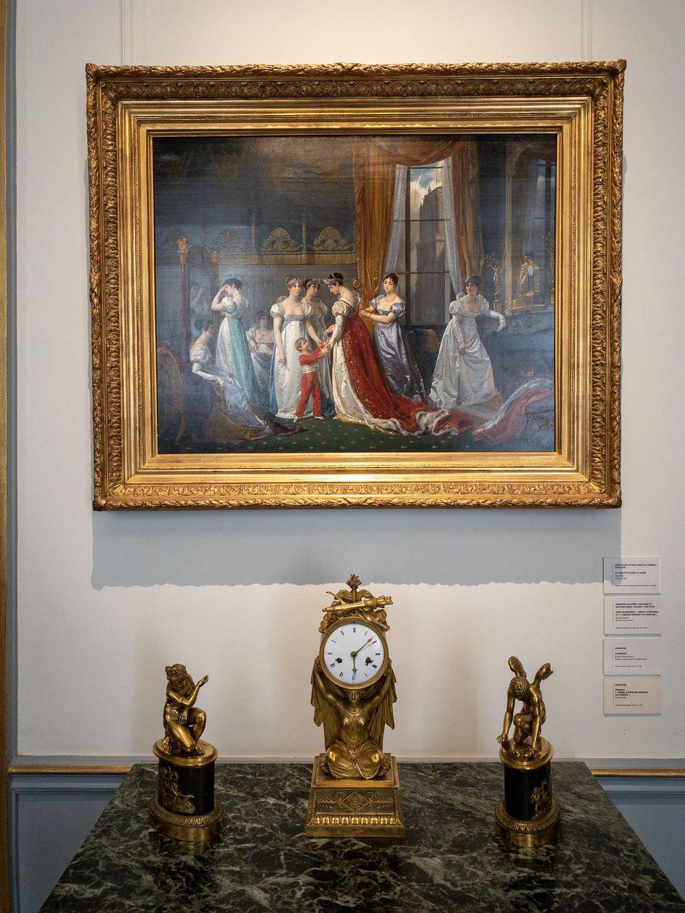 Musee Marmottan Monet - Jean-Louis-Victor Viger du Vigneau, La Toilette avant Le Sacre, 1865