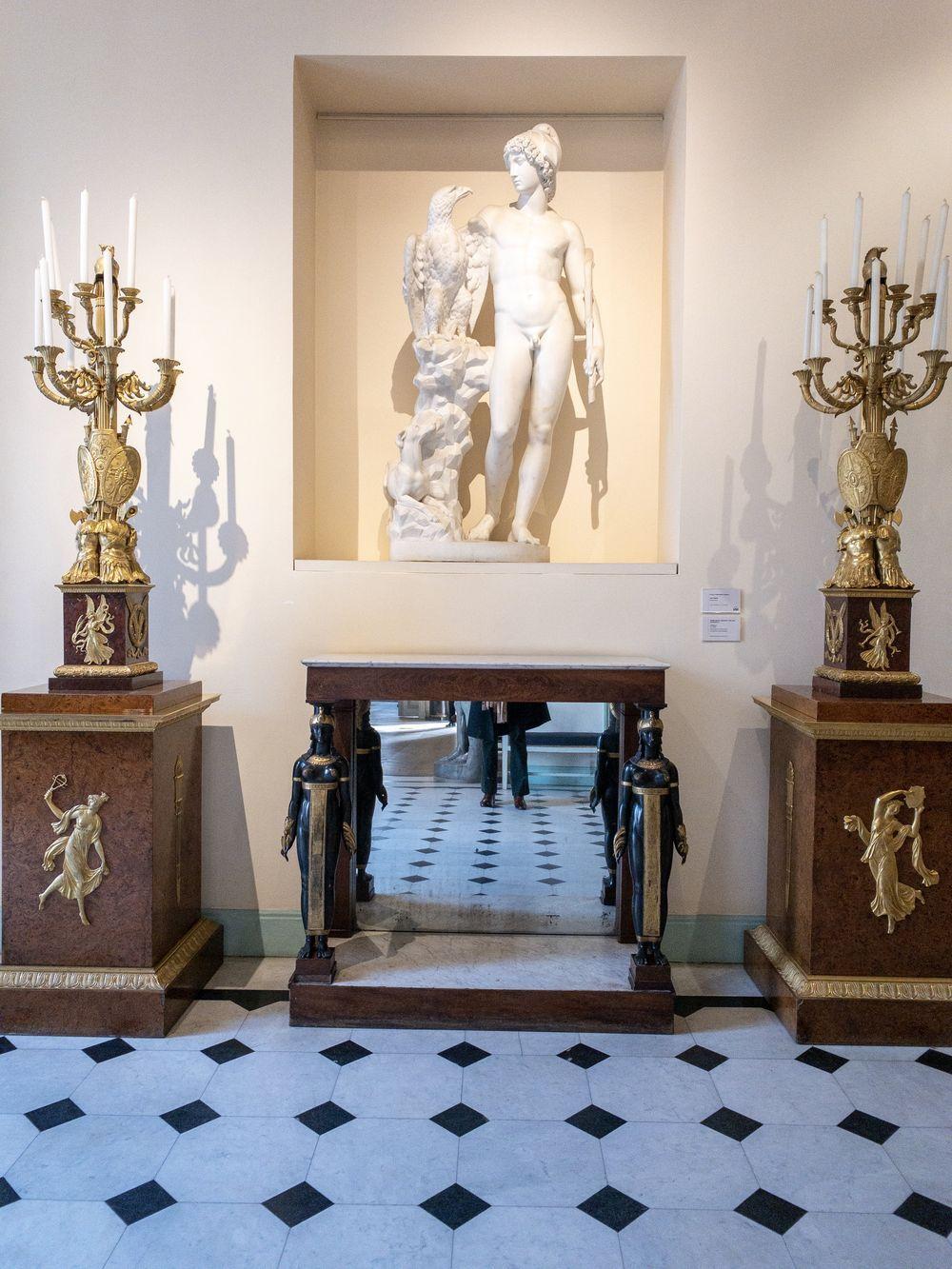 Musee Marmottan Monet - Ecole d'Antonio Canova, Ganymède