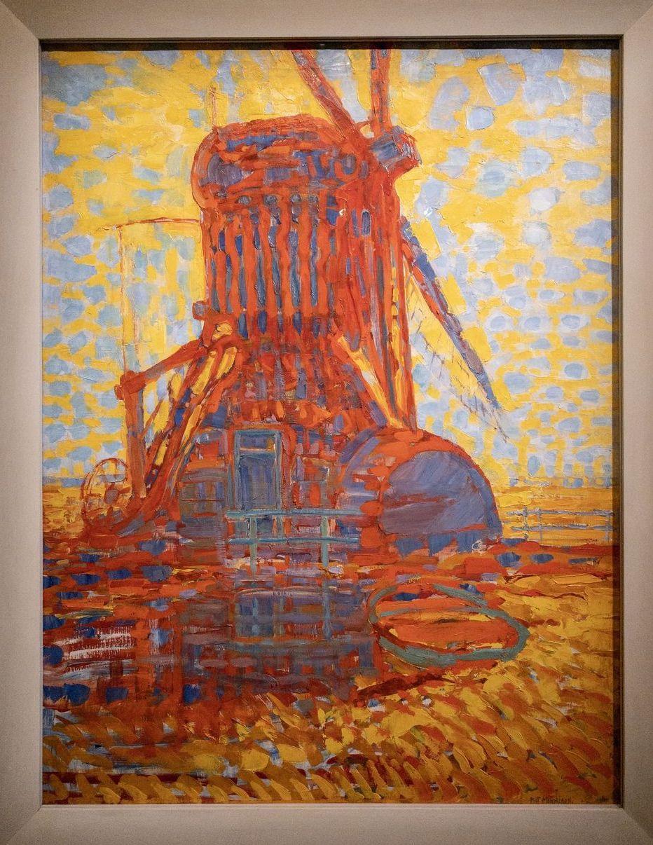 Musee Marmottan Monet - Mondrian, Moulin Dans La Clarté du Soleil, 1908