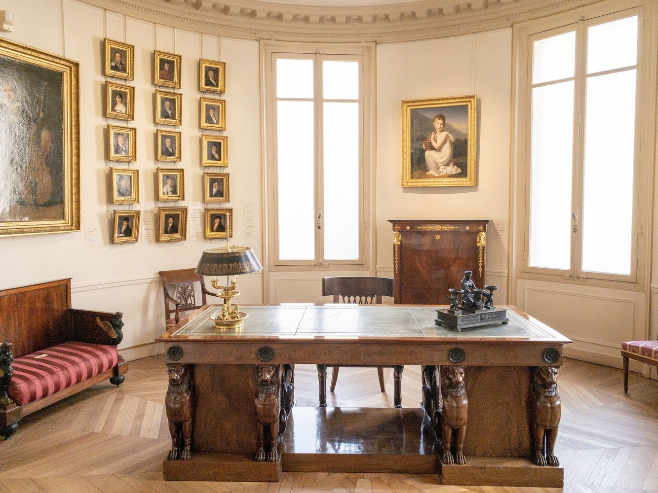 Musee Marmottan Monet - upstairs 19th century office