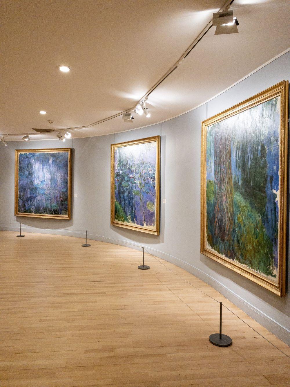 Musee Marmottan Monet - Claude Monet, Nymphéas, 1914-1917