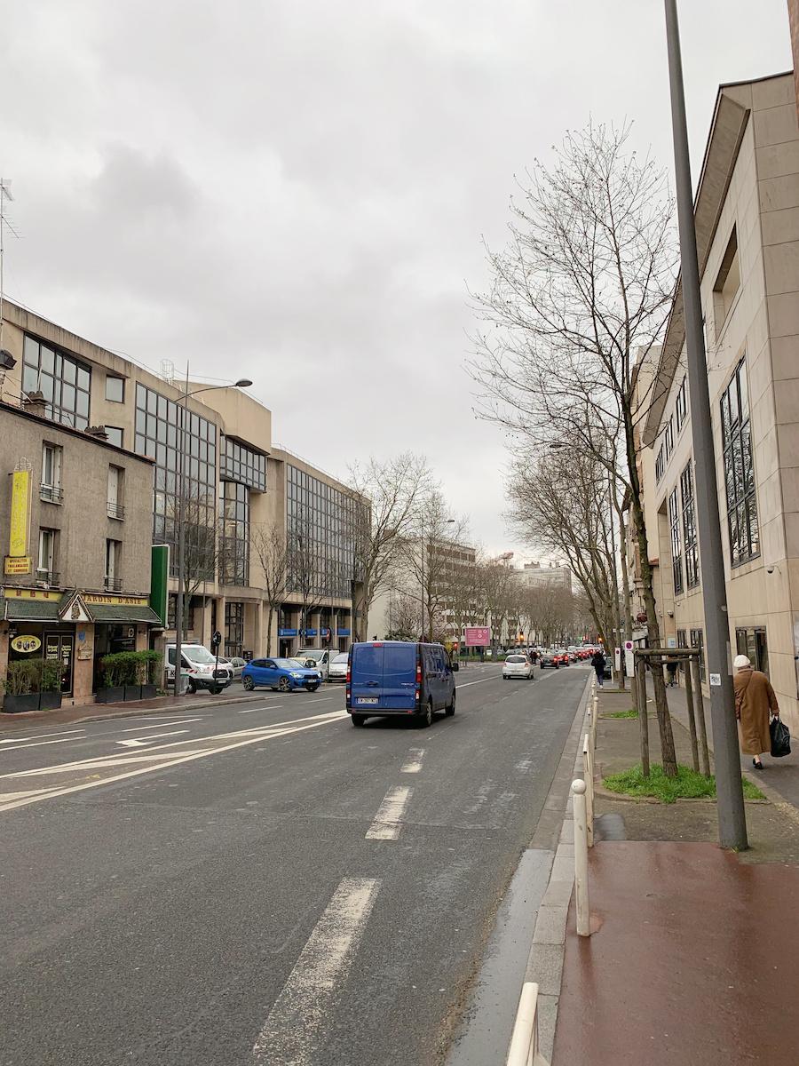 Montrouge OFII center for the Medical Visit in France